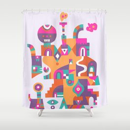 Schema 6 Shower Curtain