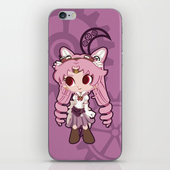 Steampunk Chibimoon - Sailor Moon iPhone & iPod Skin