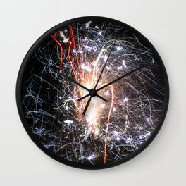 Asphalt Freedom Wall Clock
