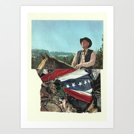 Banditti of the Prairie Art Print
