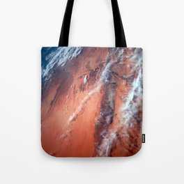 Richat Structure Tote Bag