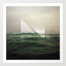 The Ocean – It's Calling Art Print