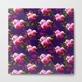 Cheerful Cherry Blossom Metal Print