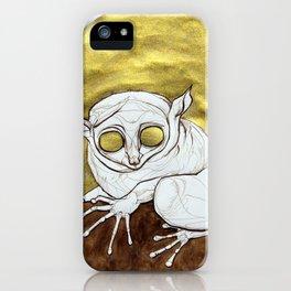 Golden Tarsier iPhone Case