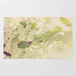 Vintage Apple Blossoms Rug