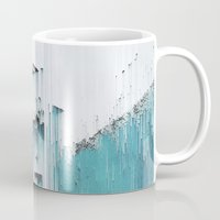 glitch Mugs featuring Glitch by SUBLIMENATION