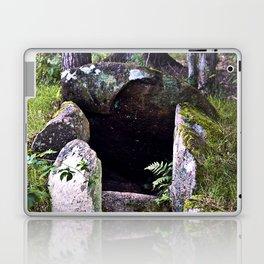 Megalithic Grave in Henneby in Denmark - Westjutland Laptop & iPad Skin