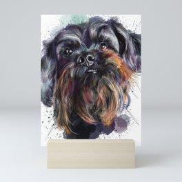 Scruffy Dog Mini Art Print