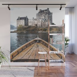 The Boat and the Castle-Scotland Wall Mural