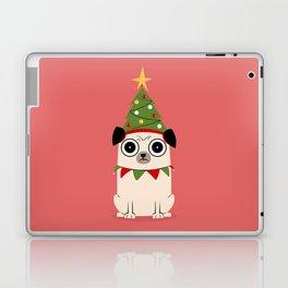 It's Christmas for Pug's Sake Laptop & iPad Skin