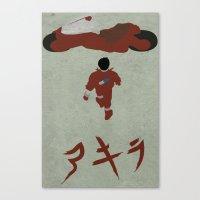 akira Canvas Prints featuring Akira by JHTY