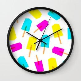 Ice Lollies 03 Wall Clock