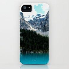 Moraine lake Wander (landscape) iPhone (5, 5s) Slim Case