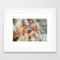 coachella Framed Art Prints featuring Coachella Dreams by Chelsea Victoria