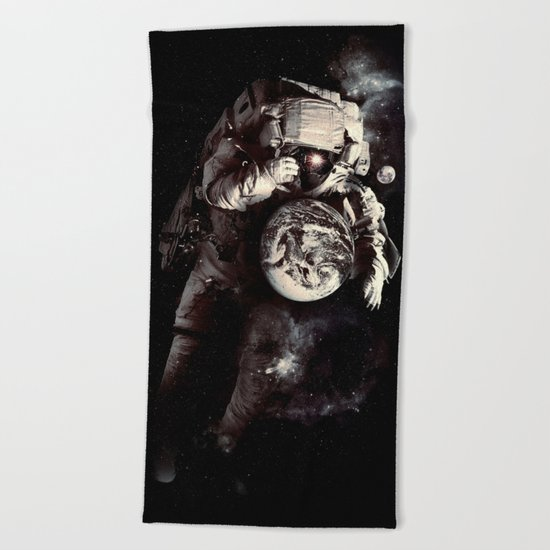 It's A Small World After All Beach Towel