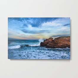 The surf Metal Print