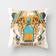 Tequila Duel Throw Pillow
