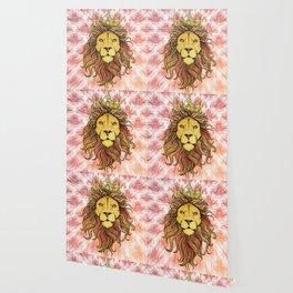 King The Lion Wallpaper