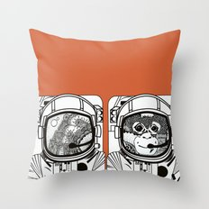 Searching for human empathy Throw Pillow