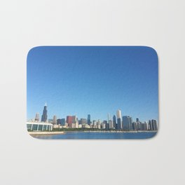 Chicago Skyline With Sears Tower Bath Mat