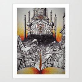 Arabian Palace Art Print