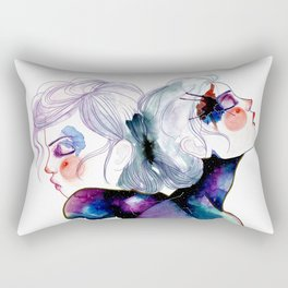 Miss Gemini Rectangular Pillow