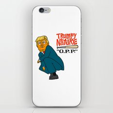 Trumpy by Nature iPhone & iPod Skin