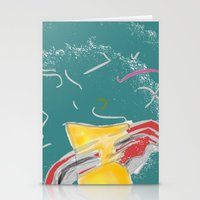 fishing Stationery Cards featuring FISHING by  ECOLARTE