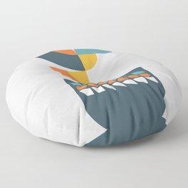 Geometric Plant 01 Floor Pillow