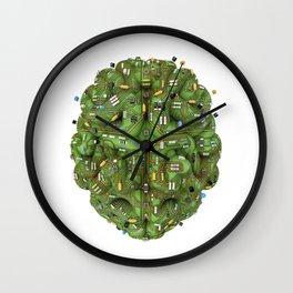 Circuit brain Wall Clock