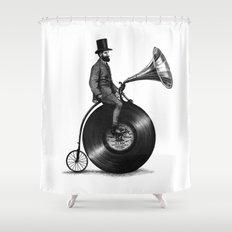 Music Man (monochrome option) Shower Curtain