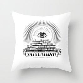 YALLUMINATI Throw Pillow