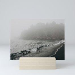 The Black Beach, North Shore Minnesota | Nature and Landscape Photography Mini Art Print