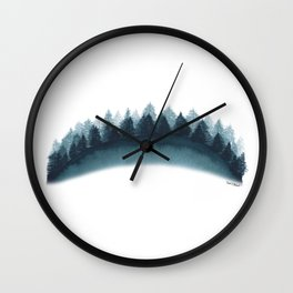 In The Trees by Rachel Whitehurst Wall Clock