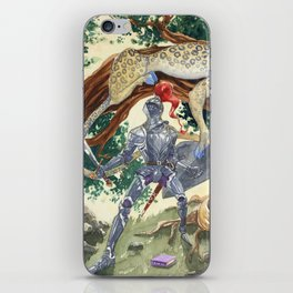 King Pellinore and the Questing Beast iPhone Skin
