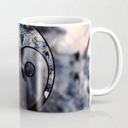 Ying Yang Pattern Coffee Mug