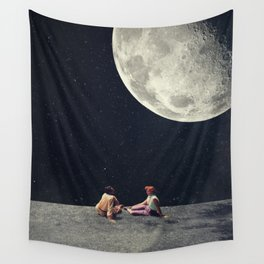 I Gave You the Moon for a Smile Wall Tapestry
