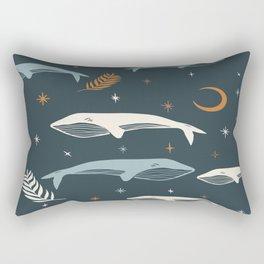 Magical Whale Rectangular Pillow