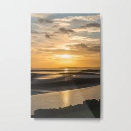 Severn Sundown Metal Print