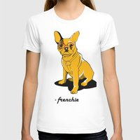 frenchie T-shirts featuring Frenchie by andiroses