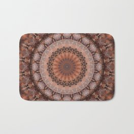 Mandala homely atmosphere Bath Mat