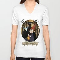 over the garden wall V-neck T-shirts featuring Over The Garden Wall by Lockholmes