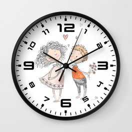 Love is in the air 4 Wall Clock