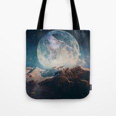 Lake Moon Tote Bag