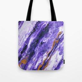 Chevron Amethyst 2 Tote Bag