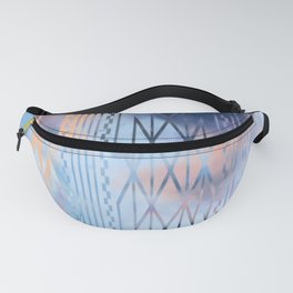 Blue Tribal No.1 Fanny Pack