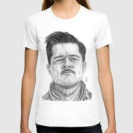 Aldo Raine Portrait T-shirt