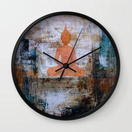Buddha Mandala Wall Clock