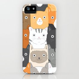 Herded Cats iPhone Case
