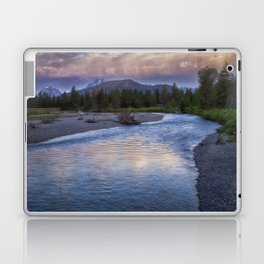 Morning on the Snake River - Grand Teton national Park Laptop & iPad Skin